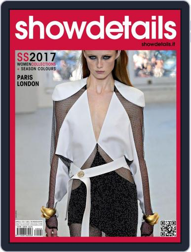 SHOWDETAILS PARIS+LONDON March 1st, 2017 Digital Back Issue Cover