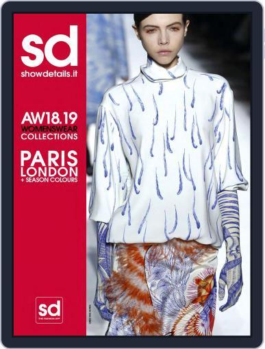 SHOWDETAILS PARIS+LONDON April 7th, 2018 Digital Back Issue Cover