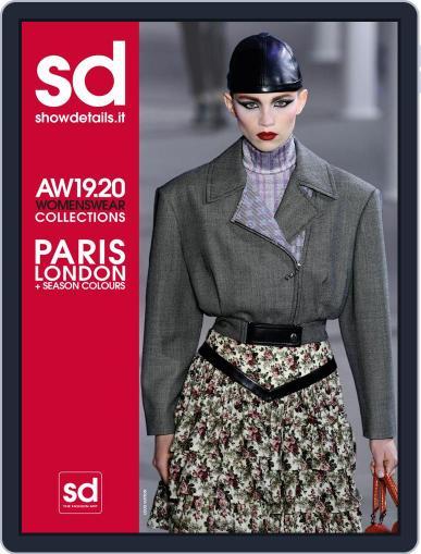 SHOWDETAILS PARIS+LONDON April 8th, 2019 Digital Back Issue Cover