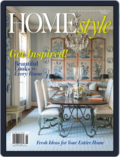 Southern Home January 1st, 2019 Digital Back Issue Cover