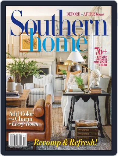 Southern Home January 1st, 2020 Digital Back Issue Cover