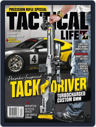 Tactical Life November 1st, 2018 Digital Back Issue Cover