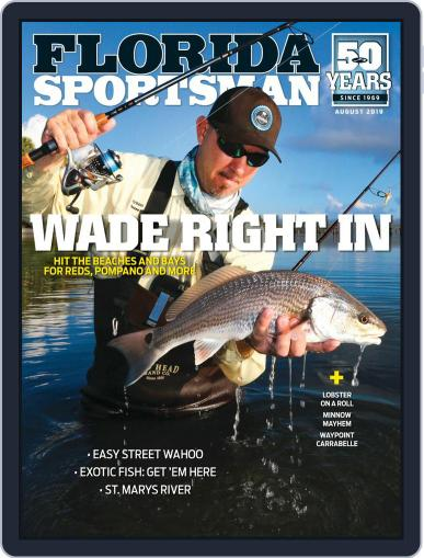 Florida Sportsman August 1st, 2019 Digital Back Issue Cover