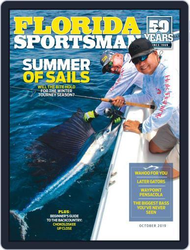 Florida Sportsman October 1st, 2019 Digital Back Issue Cover