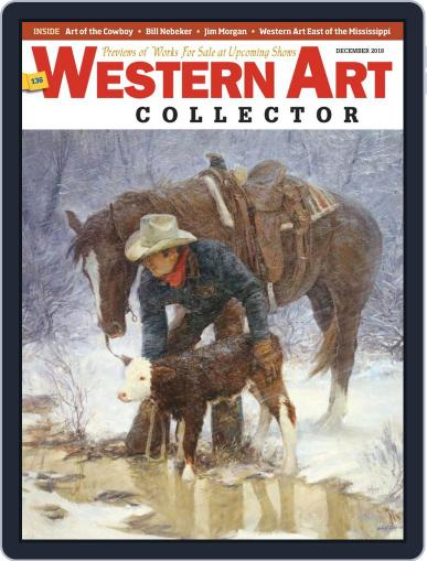 Western Art Collector December 1st, 2018 Digital Back Issue Cover