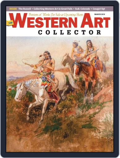 Western Art Collector March 1st, 2019 Digital Back Issue Cover