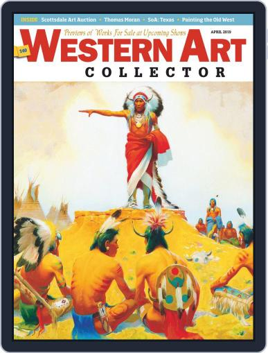 Western Art Collector April 1st, 2019 Digital Back Issue Cover