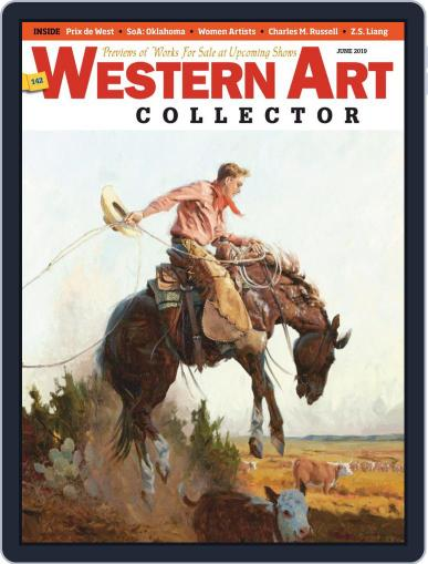 Western Art Collector June 1st, 2019 Digital Back Issue Cover