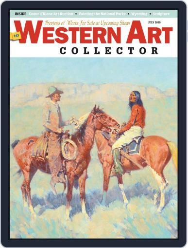 Western Art Collector July 1st, 2019 Digital Back Issue Cover