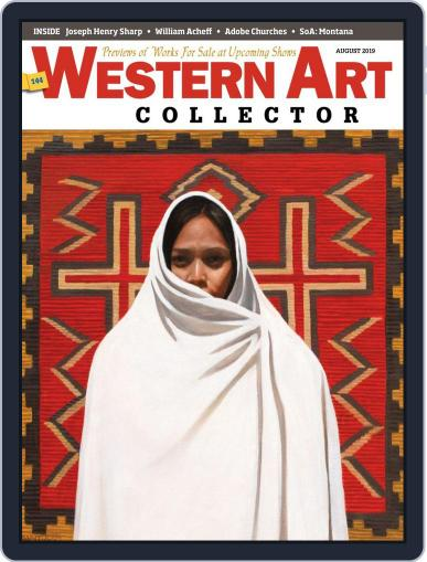 Western Art Collector August 1st, 2019 Digital Back Issue Cover