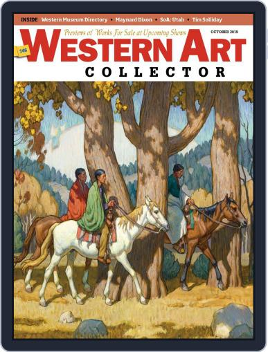 Western Art Collector October 1st, 2019 Digital Back Issue Cover
