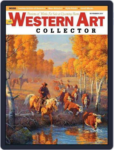 Western Art Collector November 1st, 2019 Digital Back Issue Cover