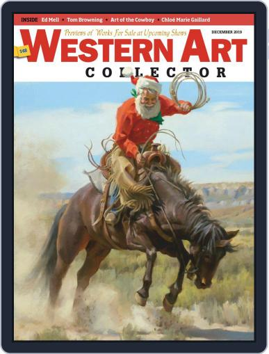 Western Art Collector December 1st, 2019 Digital Back Issue Cover