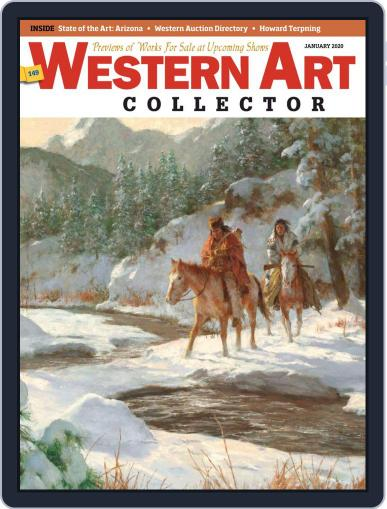 Western Art Collector January 1st, 2020 Digital Back Issue Cover