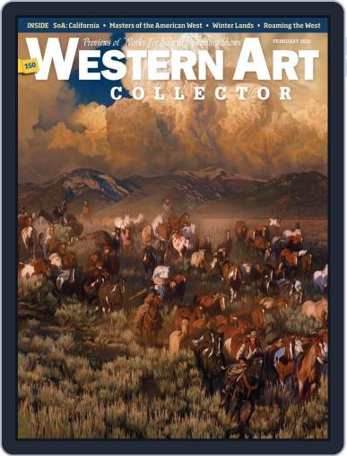 Western Art Collector February 1st, 2020 Digital Back Issue Cover