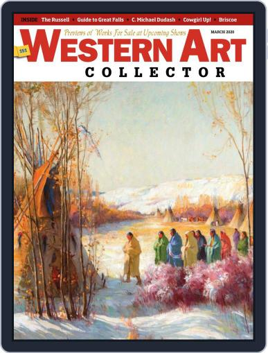 Western Art Collector March 1st, 2020 Digital Back Issue Cover