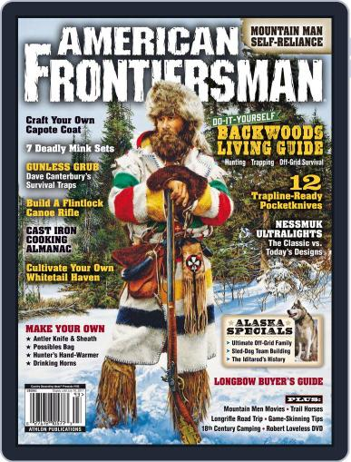 American Frontiersman April 1st, 2017 Digital Back Issue Cover