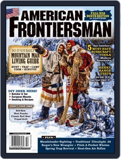 American Frontiersman September 1st, 2019 Digital Back Issue Cover
