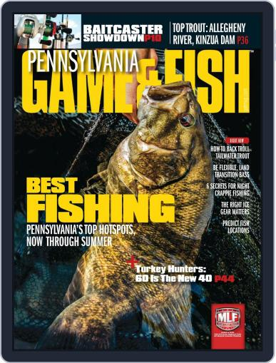 Game & Fish East March 1st, 2019 Digital Back Issue Cover
