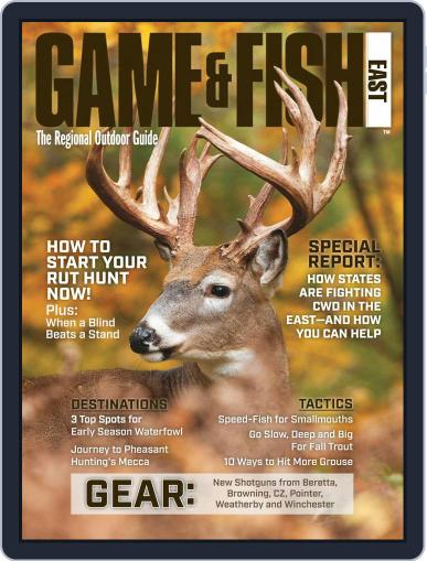 Game & Fish East October 1st, 2019 Digital Back Issue Cover