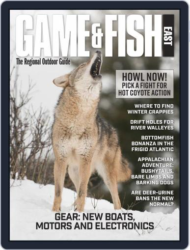Game & Fish East February 1st, 2020 Digital Back Issue Cover