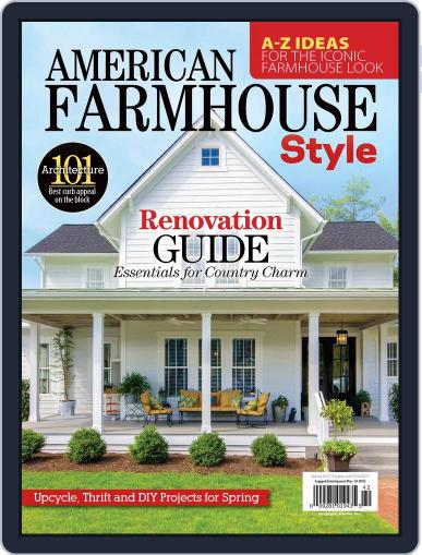American Farmhouse Style July 28th, 2017 Digital Back Issue Cover