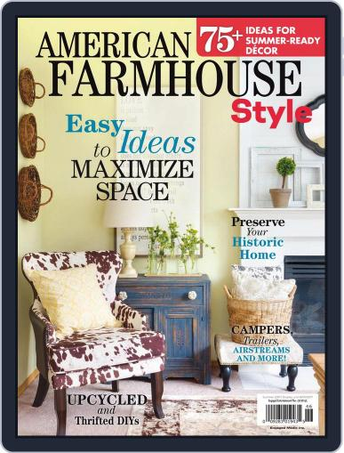 American Farmhouse Style August 1st, 2017 Digital Back Issue Cover
