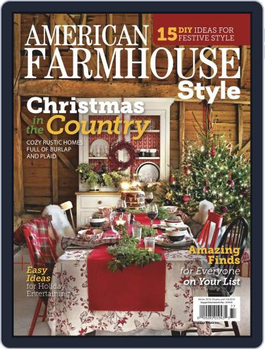 American Farmhouse Style October 30th, 2018 Digital Back Issue Cover