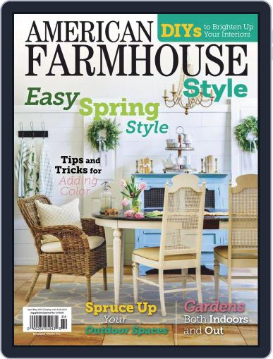 American Farmhouse Style April 1st, 2019 Digital Back Issue Cover