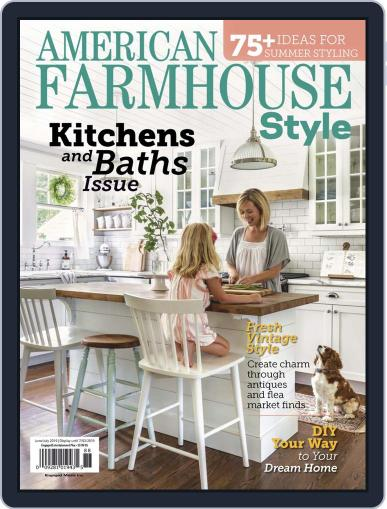 American Farmhouse Style June 1st, 2019 Digital Back Issue Cover