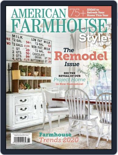 American Farmhouse Style February 1st, 2020 Digital Back Issue Cover