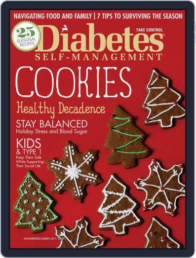 Diabetes Self-Management November 1st, 2017 Digital Back Issue Cover