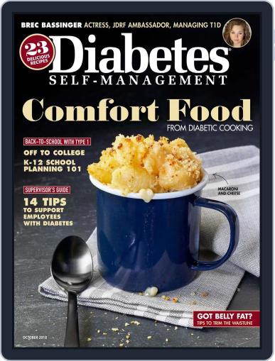 Diabetes Self-Management September 1st, 2018 Digital Back Issue Cover