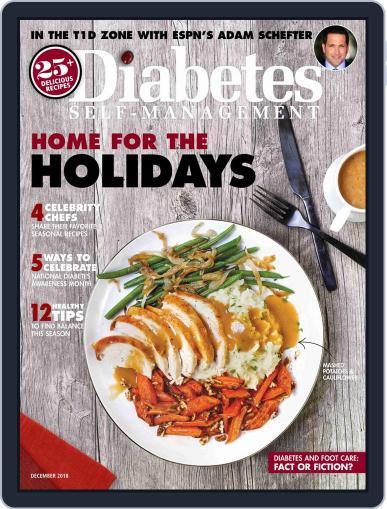 Diabetes Self-Management November 1st, 2018 Digital Back Issue Cover