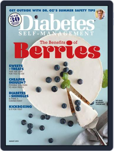 Diabetes Self-Management July 1st, 2019 Digital Back Issue Cover