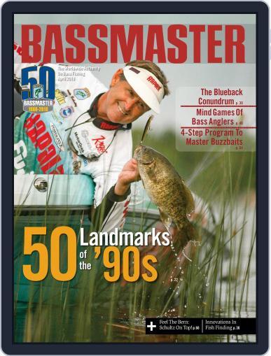 Bassmaster April 1st, 2018 Digital Back Issue Cover