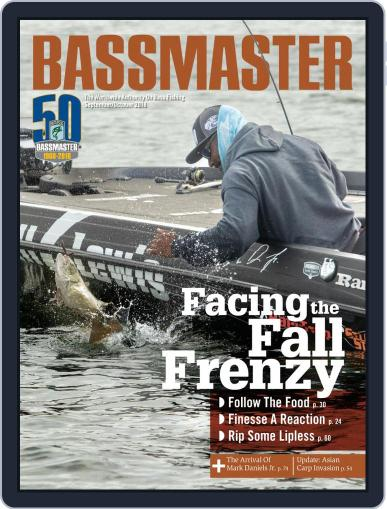 Bassmaster September 1st, 2018 Digital Back Issue Cover