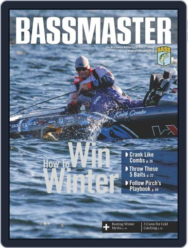 Bassmaster January 1st, 2019 Digital Back Issue Cover