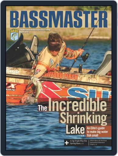 Bassmaster March 1st, 2019 Digital Back Issue Cover