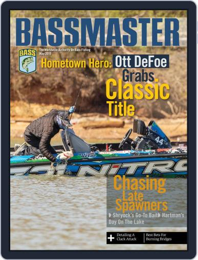 Bassmaster May 1st, 2019 Digital Back Issue Cover