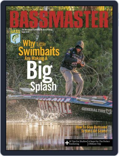 Bassmaster June 1st, 2019 Digital Back Issue Cover