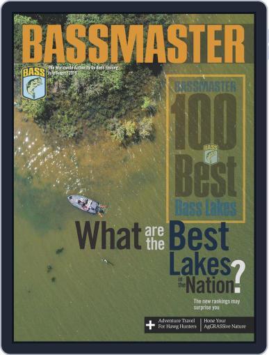 Bassmaster July 1st, 2019 Digital Back Issue Cover
