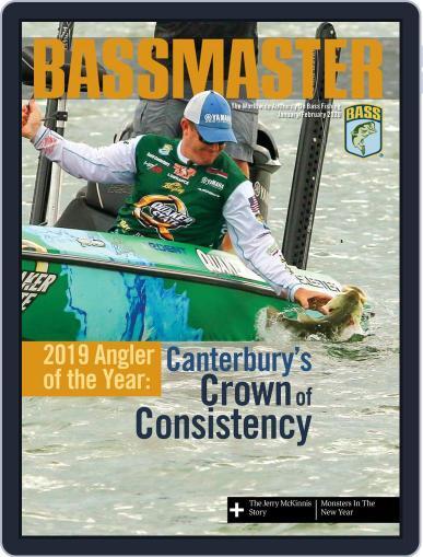 Bassmaster January 1st, 2020 Digital Back Issue Cover