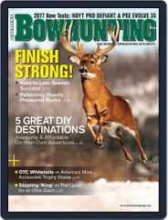 Petersen's Bowhunting (Digital) Subscription January 1st, 2017 Issue