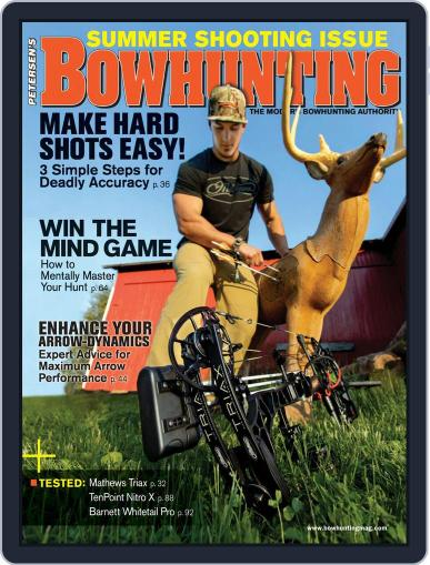 Petersen's Bowhunting August 1st, 2018 Digital Back Issue Cover