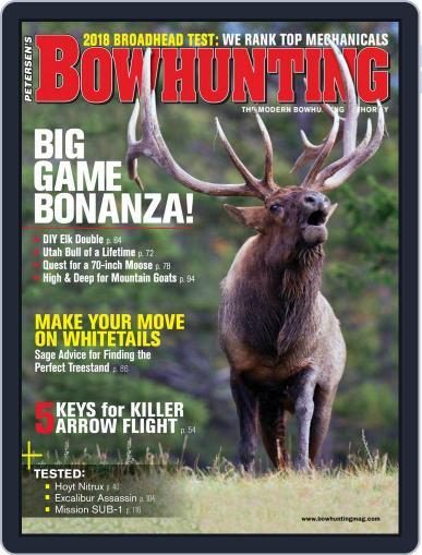 Petersen's Bowhunting September 1st, 2018 Digital Back Issue Cover