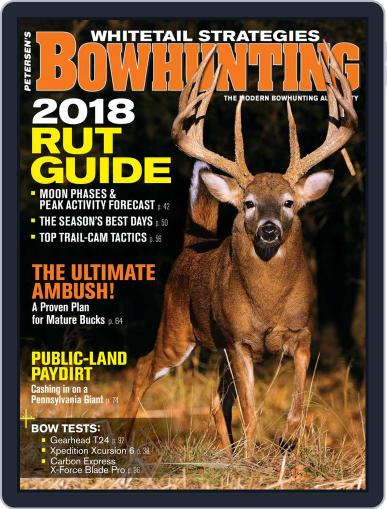Petersen's Bowhunting October 1st, 2018 Digital Back Issue Cover