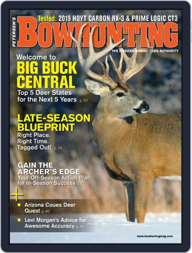 Petersen's Bowhunting January 1st, 2019 Digital Back Issue Cover