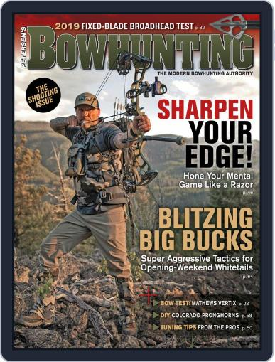 Petersen's Bowhunting August 1st, 2019 Digital Back Issue Cover