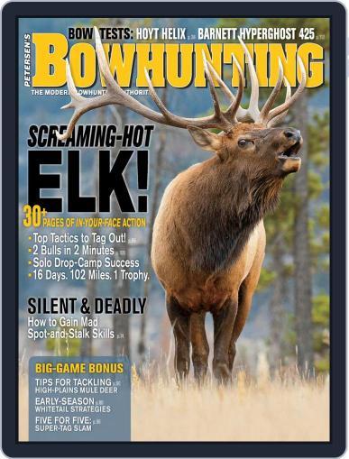 Petersen's Bowhunting September 1st, 2019 Digital Back Issue Cover